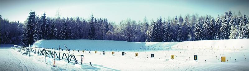 БИАТЛОН | СОБ «Врево» - одна из крупнейших тренировочных баз по  биатлону в ЦФО. Каждый год для проведения сборов и участия в соревнованиях к нам приезжают сотни спортсменов. Недорогое проживание и питание, подготовленные трассы и стрельбище на 30 установок.